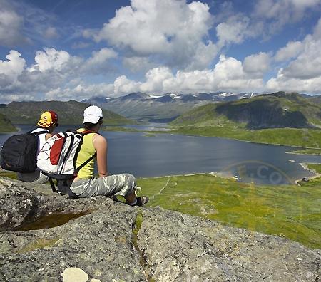 Норвегия - озера